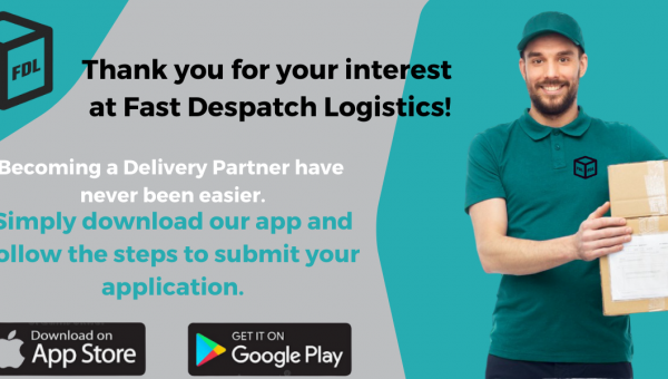 Recruitment Update! Become Delivery associate never has been easier!